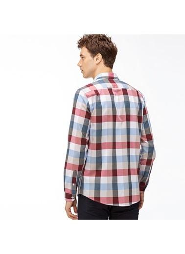 Lacoste Erkek Slim Fit Gömlek CH2015.15R Bordo